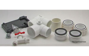 PVC parts included
