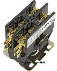 Hot Tub Contactor, Double Pole, 120V Coil, 50A