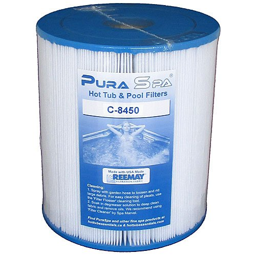 "C-8450 Filter (8"" W, 9"" L) by PuraSpa"